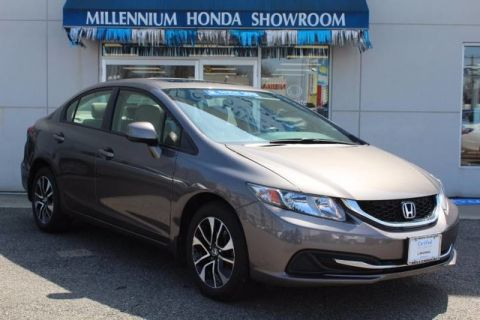 Certified Used Honda Civic Sdn 4dr Auto EX