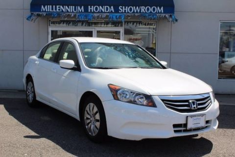 Certified Used Honda Accord Sdn 4dr I4 Auto LX