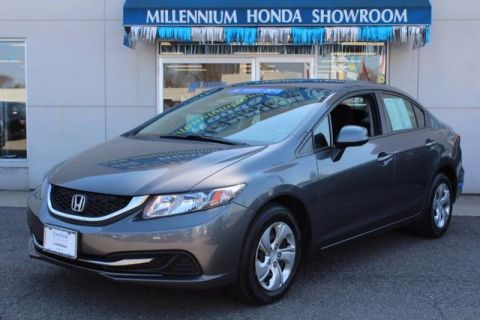 Certified Used Honda Civic Sedan 4dr Auto LX