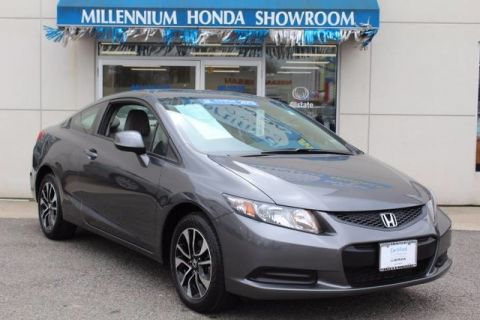 Certified Used Honda Civic Cpe 2dr Auto EX