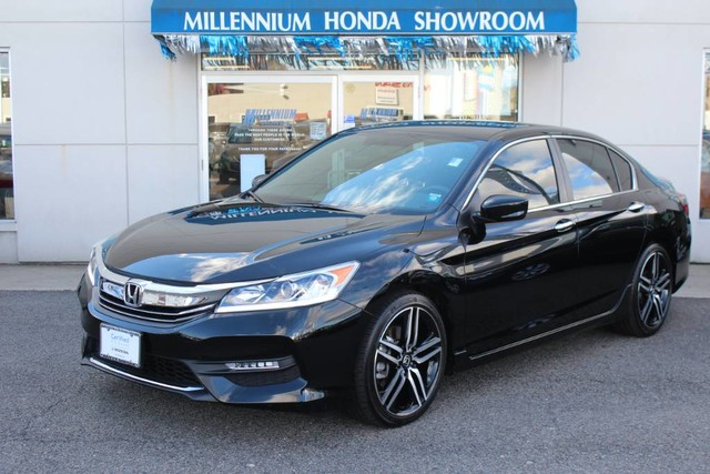 pre owned 2016 honda accord sedan 4dr i4 cvt sport sedan