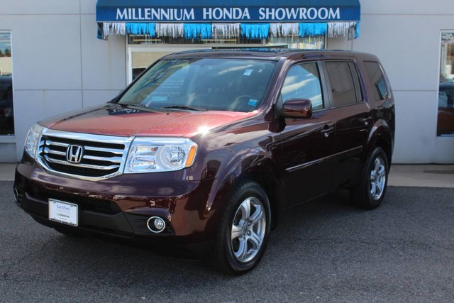 Certified pre owned 2014 honda pilot 4wd 4dr ex l suv in for Certified pre owned honda pilot 2016